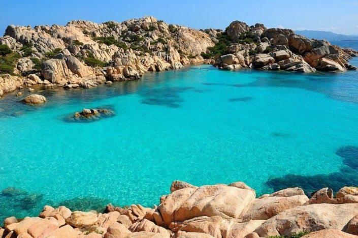 Cala Coticcio - Arcipelago della Maddalena, Sardegna, Italia